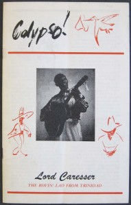 "Lord Caresser, ""Calypso!"" (booklet)"
