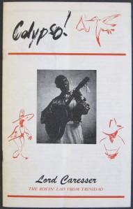 "Lord Caresser, ""Calypso!"" (booklet)"