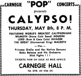 Carnegie Pops Calypso
