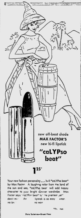 1957-07-12 Desert News A5 Calypso Lipstick
